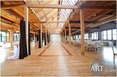 Gorgeous wooden space at Bridgeport Art Center Bridgeport Art Center, Event Planning, Wedding Planning, Chicago Wedding, Lighting Design, Wedding Events, How To Plan, Space, Light Design