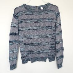 Knit sweater Never used. No damages. Can fit xsmall- small Xhilaration Jackets & Coats