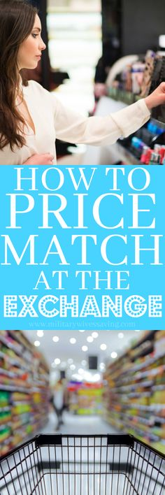 How to price match and use coupons at the military exchange - perfect guide for new military spouses and those new to couponing and learning how to use coupons!