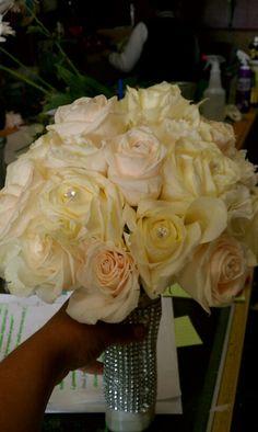 Shellspetals bling bouquet