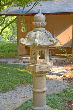 Japanese Garden Elements - Lanterns