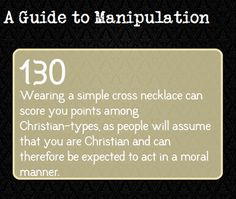 A Guide to Manipulation: #130