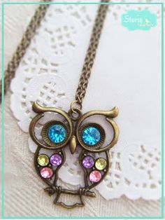 .:storin:. colorful owl   (find it at https://www.facebook.com/PequenosTesouros)