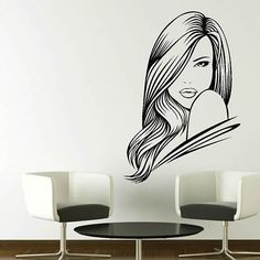 Fashion Girl Wall Sticker Decal