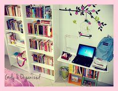 Cute bedroom idea.