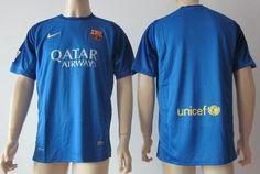 Portero del Barcelona 2013/2014 azul [053] - €16.87 : Camisetas de futbol baratas online!   http://www.8minzk.com/f/Camisetasdefutbol/