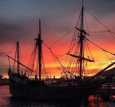 The Duyfken replica, Fremantle.