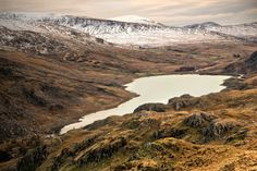 Llyn Ogwen from above by CharmingPhotography.deviantart.com on @DeviantArt