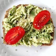 Sabrina´s Sea of Colors Avocado Toast, Breakfast, Food, Shoe, Raisin, Condensed Milk, Easy Cooking, Avocado, Honey