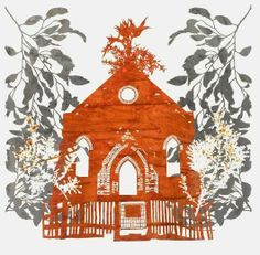 hand cut paper by Nicola Moss