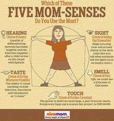 Which of These Five Mom-Senses Do You Use the Most?