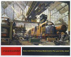 'Progress', British Railways poster, 1957