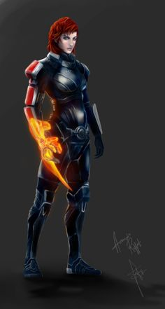 Female Shepard Mass Effect 3 by daeds.deviantart.com on @deviantART