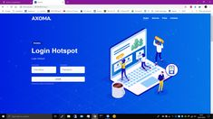 Login Page Design, Team 7, Projects To Try, Computer Science, Technology, Templates Free, Wi Fi, Hot, Tela