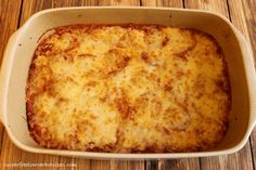 Low carb pizza casserole gluten free
