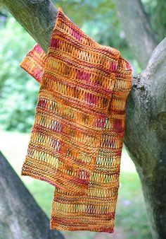 Free Silk Knit Scarf Pattern