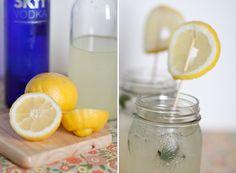 love this idea of serving lemonade -minus the vodka :)