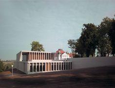 David Chipperfield . The Museum of Modern Literature .  Marbach am Neckar  (1)