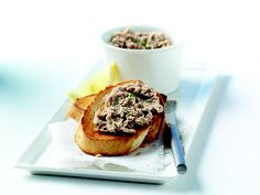 Tangy smoked mackerel pâté: This could be the easiest light meal you're ever likely to make!