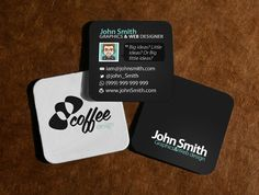 Des1gn ON - Blog de Design e Inspiração. - http://www.des1gnon.com/2013/09/15-cartoes-de-visitas-em-formato-quadrado/