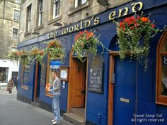 Travel Shop Girl Blog: World's End Pub | Edinburgh, Scotland
