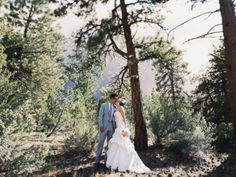 Michael Wolber and April Hartley were all ready for their wedding.  The ceremony was scheduled for Saturday in Bend, Oregon – but before they could walk down the aisle, brush fires about six miles away churned into a giant wildfire.