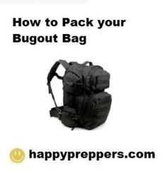 How to Pack Your Bugout Bag Bug Out Gear 41ec90beed668