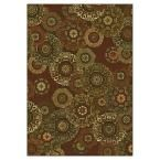 Retro Finish Mocha (Brown) 7 ft. 10 in. x 11 ft. 2 in. Area Rug