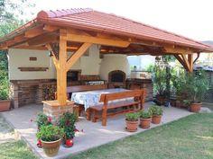 45 Gorgeous Outdoor Patio Design Ideas Enticing You to Stay Longer patio ideas Outdoor Rooms, Outdoor Gardens, Outdoor Living, Outdoor Decor, Outdoor Kitchens, Outdoor Patios, Backyard Kitchen, Outdoor Kitchen Design, Kitchen Rustic