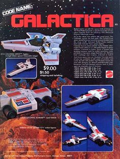 space1970: BATTLESTAR GALACTICA (1978) Toys