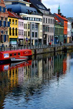 Kraanlei, Ghent, Belgium