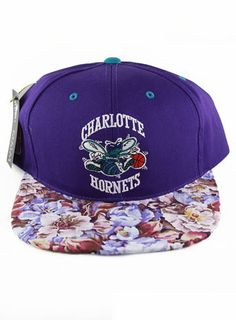 7fa5482b458 Agora Vintage Charlotte Hornets Snapback Hat Charlotte Hornets