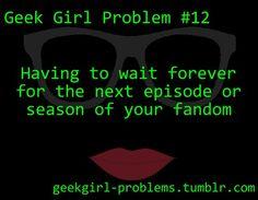 geek girl problems