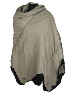 Greg Lauren | Tent shawl