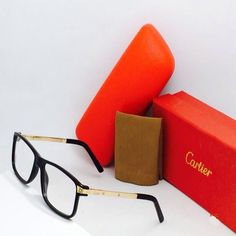 CARTIER EYE WEAR EXCLUSIVE ADDITION - BLACK -GOLDEN