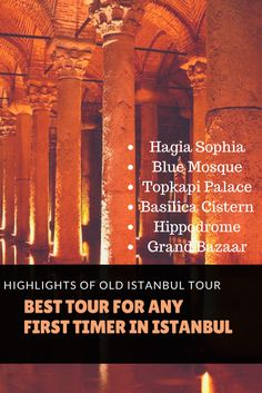 the best tour for any visitor to Istanbul, Highlights of old Istanbul tour. Hagia Sophia, Blue Mosque, Topkapi Palace tour #Istanbultours #Istanbul #tours #private #tour guide #tripadvisor