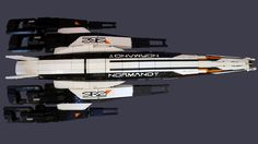 Massive Lego Mass Effect 2 Spaceship Is Massively Cool