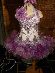 High Glitz National Pageant Dress, size 3T-4T-5T by Cate Doddy