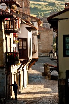 Santillana del Mar, Cantabria Spain - last stop on our 47 day adventure through France and Spain. Oct 2015