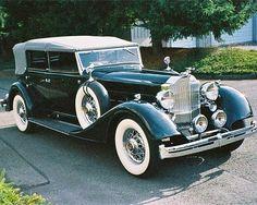 1934 Packard 1104 Dietich Convertible Sedan.....absolutely beautiful....