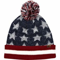 Navy American flag beanie afd36f716df