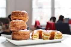 Dominique Ansel tried about ten different recipes over two months before perfecting the Cronut.