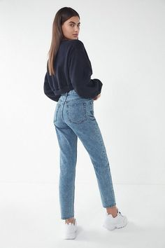 07860beabc46f BDG Poppy Straight Leg Jean