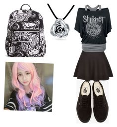 """""""Untitled #93"""" by elesedunn on Polyvore featuring Vans, New Look, Vera Bradley, Clair Beauty and Bling Jewelry"""