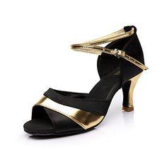Nap+Lisa+latin+salsa+szabható+női+szandál+szatén+csat+balettcipő+(több+szín)+–+USD+$+16.99 Shoe Boots, Shoes Sandals, Baile Latino, Salsa Shoes, Ballroom Shoes, Transparent Heels, Latin Dance Shoes, Thick Heels, Long Toes