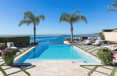 David and Yolanda Foster David and Yolanda Foster. When not filming The Real Housewives of Beverly Hills, the Fosters used to enjoy this stunning pool at their Malibu, CA, home.