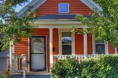 little orange cottage