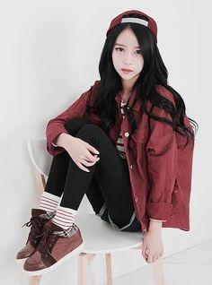 #ulzzang #fashion #korean