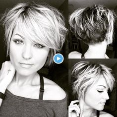 Let your hair be messy and your life be meaningful! 💋 Let your hair be messy and your life be meaningful! Mom Hairstyles, Cute Hairstyles For Short Hair, Curly Hair Styles, Hairstyle Ideas, Short Messy Haircuts, Hairstyle Pictures, Messy Short Hair, Layered Hairstyles, Trending Hairstyles