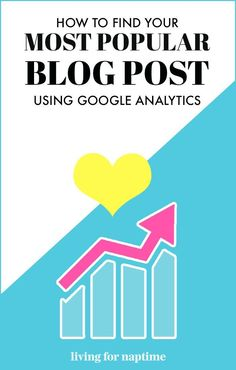 Want to find out which of blog posts is your most popular? Check out this easy step-by-step guide on how to use Google Analytics to find out! Google Analytics, Web Analytics, Make Money Blogging, Blogging Ideas, Step Guide, How To Start A Blog, Blog Tips, Social Media Tips, Content Marketing